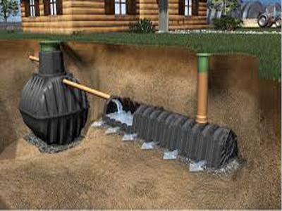 Монтаж канализационных емкостей