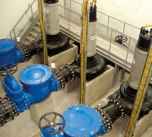 Монтаж канализационных станций