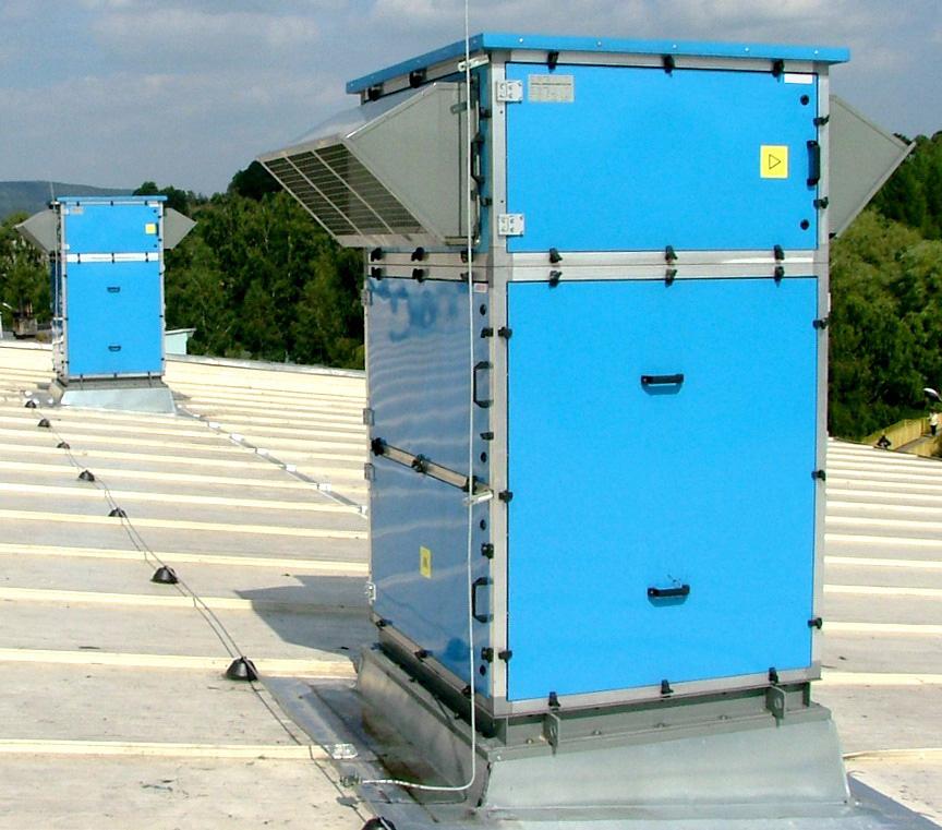 Монтаж вентиляционного оборудования