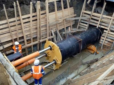 Прокладка трубопровода закрытым способом