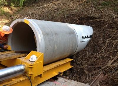 Прокладка трубопровода открытым способом